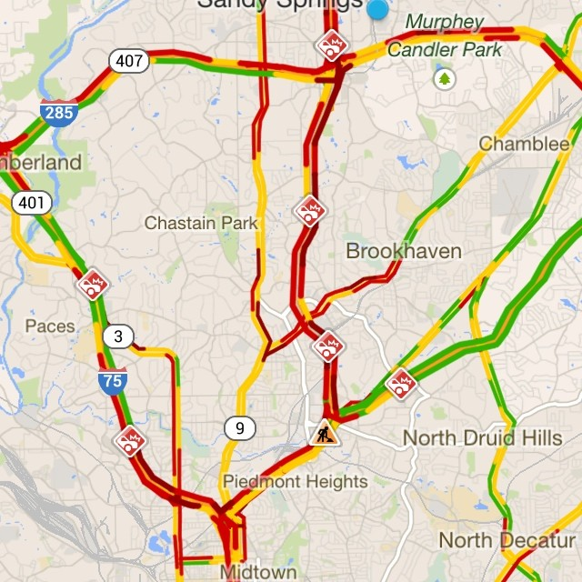 atlanta – trafficsucks – atleastitsnotsnow