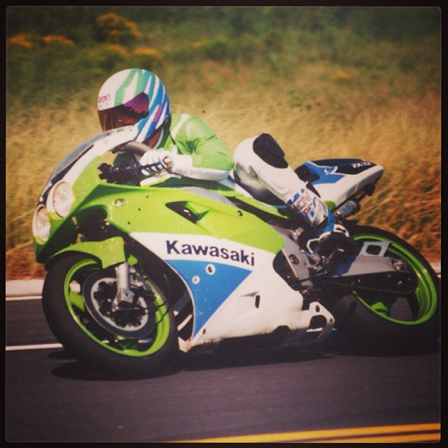 throwbackthursday – savannah – roadracing – kawasaki – zx7r