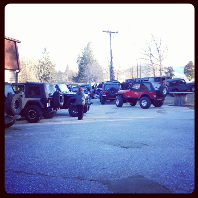 60+ Jeeps heading into…