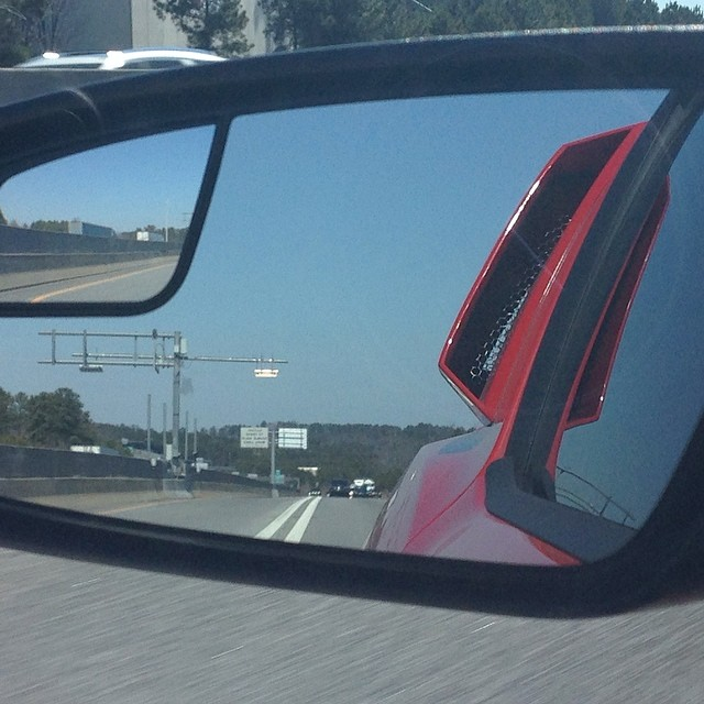 Objects in mirror are…