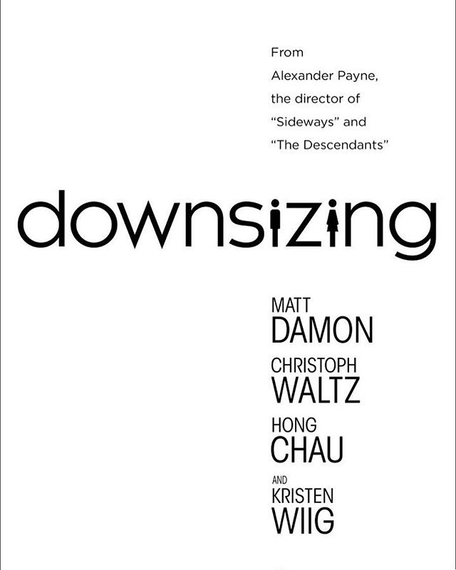 #mattdamon – #downsizing