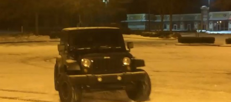 suwanee – snow – jeep – 2WD – notractioncontrol – laughter