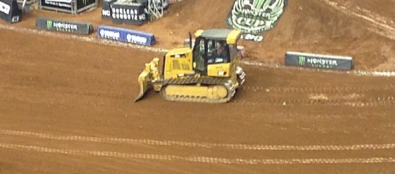 Dirt Zamboni… I've missed you so…